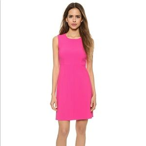 Diane Von Furstenberg DVF Carrie Dress Hot Rose 12
